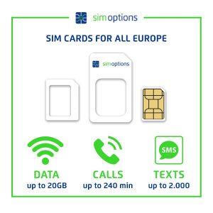 EUROPE DATA SIM PREPAID