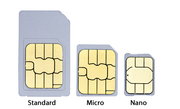 what is a sim card are all sim cards the same size