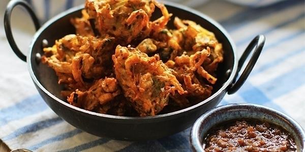 pakora dish from india best foodie destination