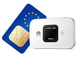 simoptions prepaid sim card for europe with pocket wifi