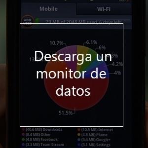 descarga un monitor de datos para evitar cargos por roaming