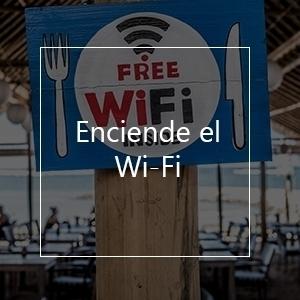 enciende el Wi-Fi para evitar cargos por roaming