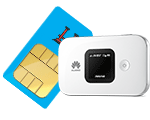 simoptions prepaid sim card for asia with pocket wifi