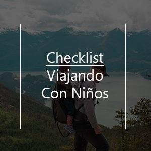 Checklist para Viajando Con Niños