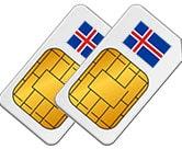 Smart Comfort XL SIM Card Reykjavik