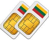 Smart Comfort XL SIM Card Lithuania