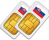 Smart Comfort XL SIM Card Slovakia