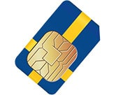 Smart Gold SIM Card Stockholm