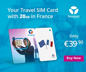 Bouygues Telecom Vacation Plan