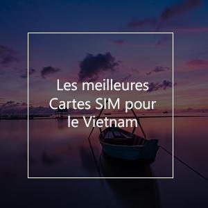 Les 8 meilleures cartes SIM pour le Vietnam en 2021