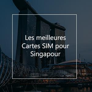 Les 10 meilleures cartes SIM pour Singapour en 2021